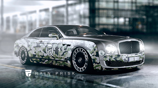 Рендер Bentley Mulsanne Gran Coupe