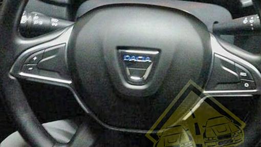 Шпионы сфотографировали руль нового Рено Duster