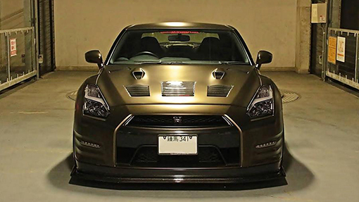 Nissan GT-R от Advance Eight