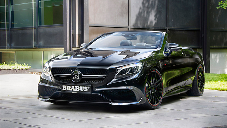 Кабриолет Mercedes-AMG S 63 4Matic от Brabus