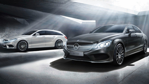 Mercedes-Benz CLS Coupe и CLS Shooting Brake Final Edition