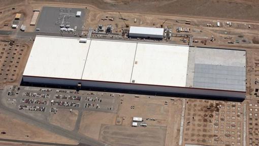 Tesla открыла «гигафабрику» впустыне