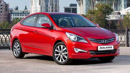 Июльский рейтинг самых реализуемых авто в РФ возглавил Хёндай Solaris