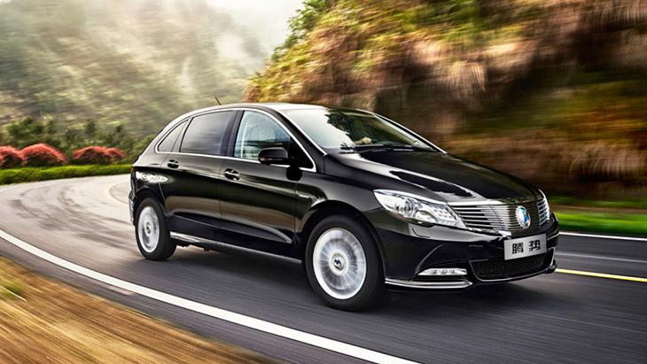 Daimler иBYD представили новый электромобиль
