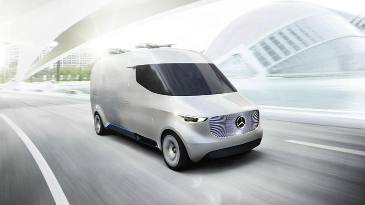 Benz Vision Van Concept: фотообзор