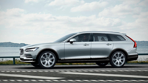 Рендер Volvo V90 Cross Country