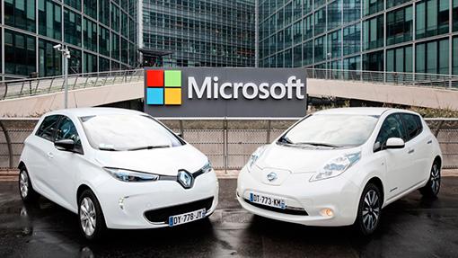 Renault-Nissan иMicrosoft разработают автомобильные сервисы обновленного поколения