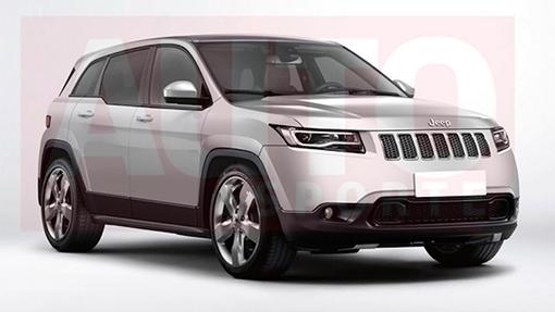 Кконцу осени Jeep представит новый кроссовер C-SUV