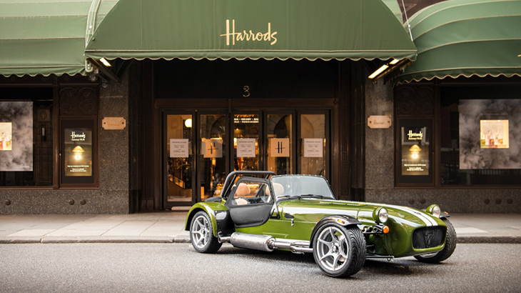 Caterham Seven 420 Harrods