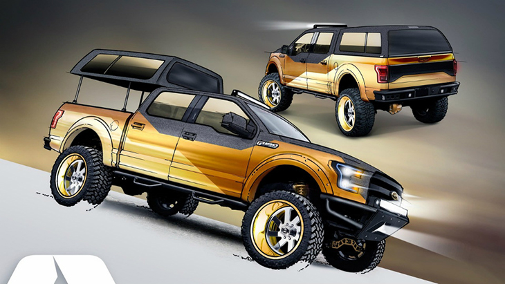 A.R.E. Accessories F-150 4×4 XLT SuperCab Gold Standard