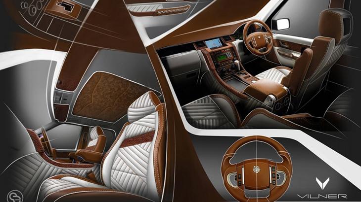 Range Rover Sport от Vilner
