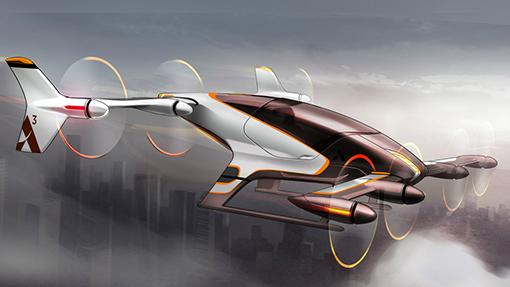 Airbus представил первые эскизы летающего такси Vahana