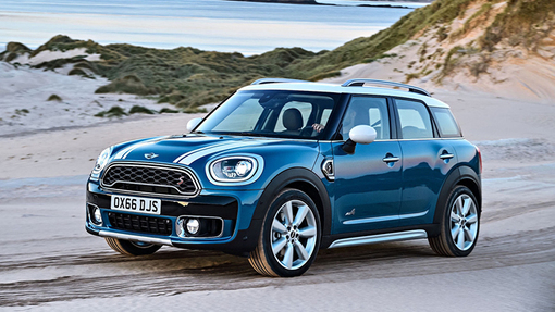 Новый MINI Countryman стал еще крупнее