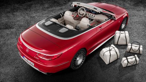 Benz показала 1-ый кабриолет влинейке Maybach