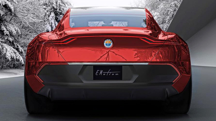 Fisker Emotion сзади