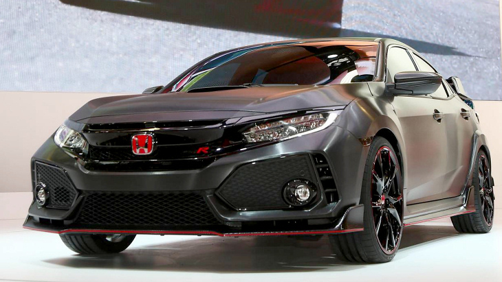 Прототип Honda Civic Type R