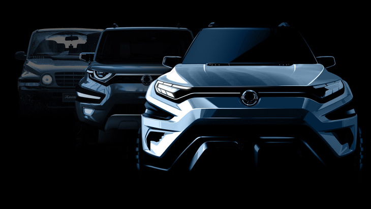 Тизер SsangYong XAVL Concept