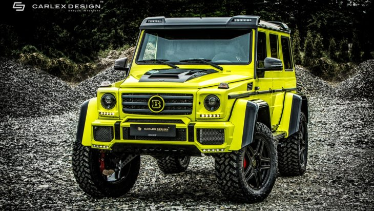 Mercedes-Benz G 500 4×4² by Brabus by Carlex Design