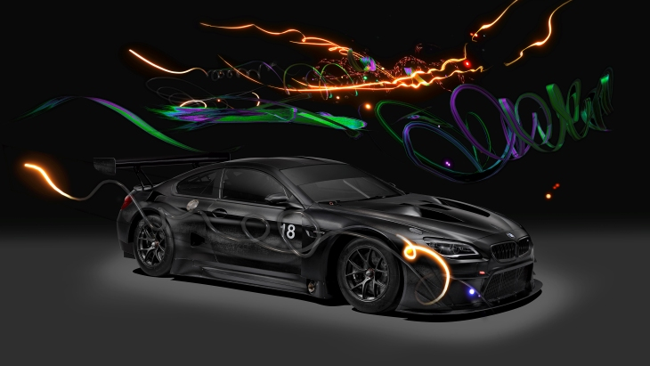 BMW M6 GT3 Art Car by Cao Fei