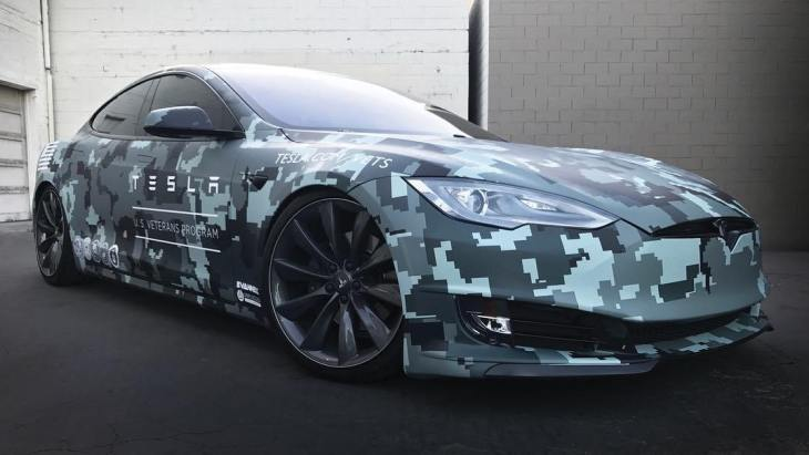 Tesla Model S by SS Customs