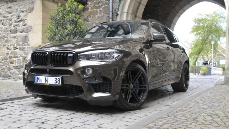 BMW X6 M by Manhart