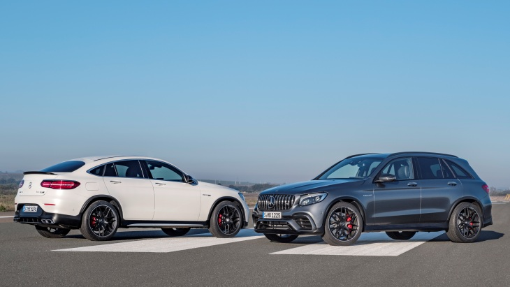 Mercedes-AMG GLC 63 S 4MATIC+ Coupe и Mercedes-AMG GLC 63 S 4MATIC+