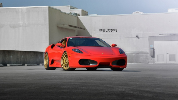 Ferrari F430 by Strasse Wheels