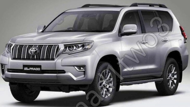 Обновлённый Toyota Land Cruiser Prado