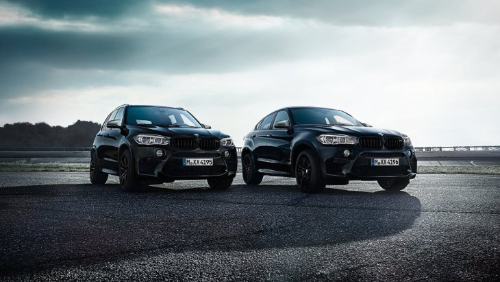 BMW X5 M Black Fire Edition и BMW X6 M Black Fire Edition