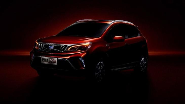 Geely Vision X3