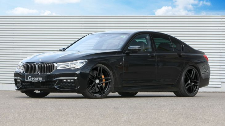 BMW 750d by G-Power