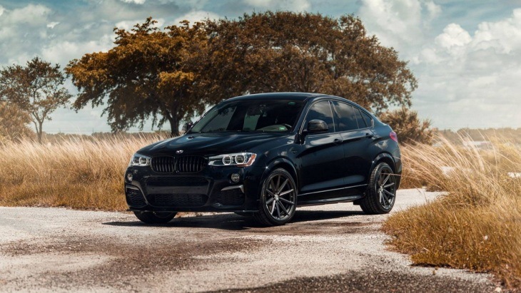 BMW X4 M40i by Vossen
