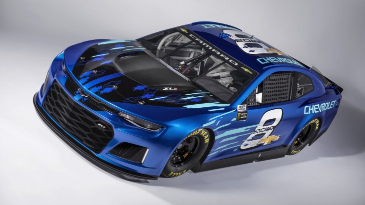 Chevrolet Camaro ZL1 NASCAR Race Car 2018 года