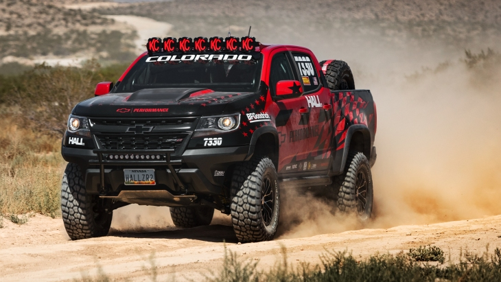 Пикап Hall Racing Chevrolet Colorado ZR2 Extended Cab '2017