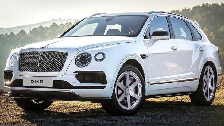 Bentley Bentayga Gigante by DMC