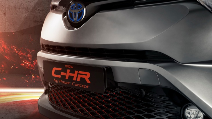 Концепт Toyota C-HR Hy-Power Concept