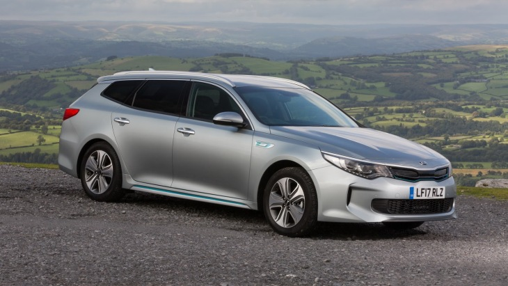 Гибридный универсал KIA Optima SportsWagon PHEV