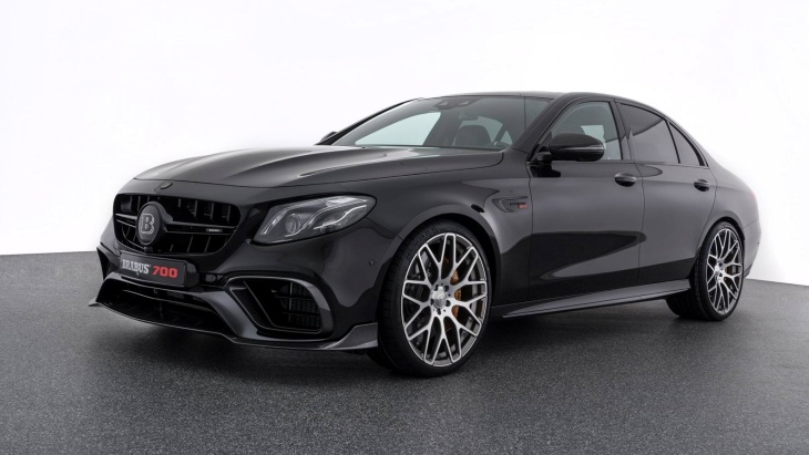 700-сильный седан Mercedes-AMG E 63 S 4Matic+ by Brabus