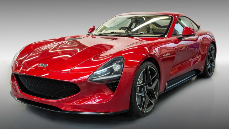 Новый британский спорткар TVR Griffith