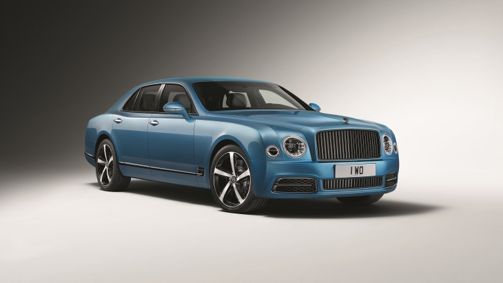 Седан Bentley Mulsanne Speed Design Series by Mulliner