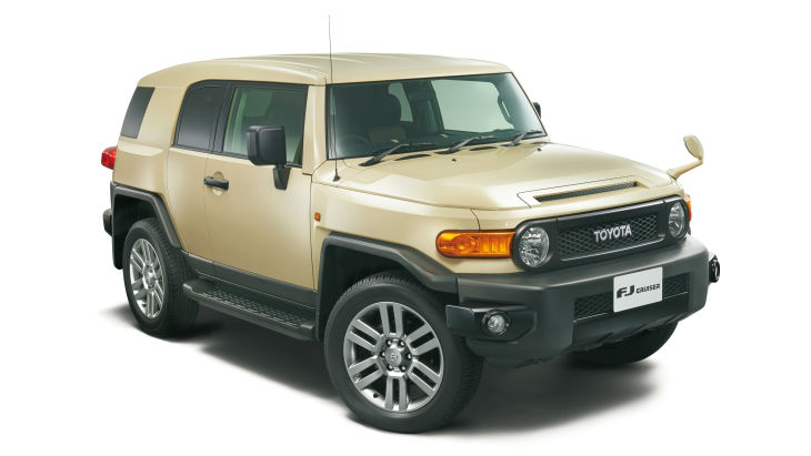 Внедорожник Toyota FJ Cruiser Final Edition