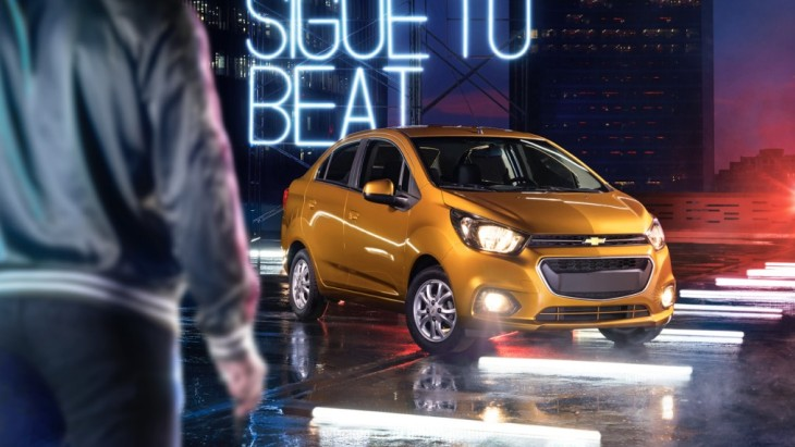 Субкомпактный седан Chevrolet Beat Notchback