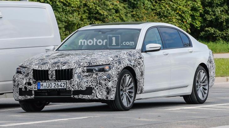 Прототип обновлённого седана BMW 7-Series
