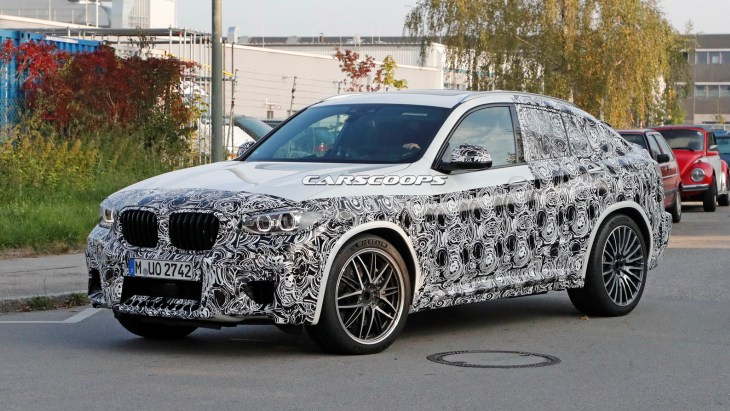 Прототип «заряженного» кросс-купе BMW X4 M нового поколения