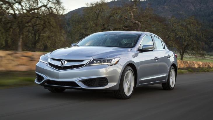 Седан Acura ILX 2018 модельного года