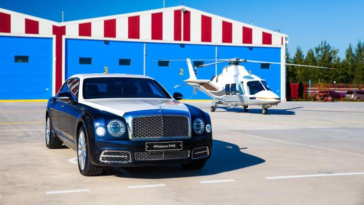 Седан Bentley Mulsanne EWB Hallmark by Mulliner