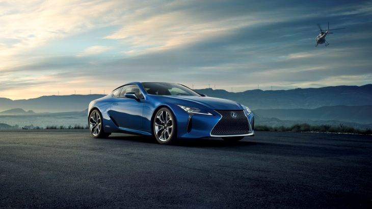 Lexus LC500h Structural Blue Edition