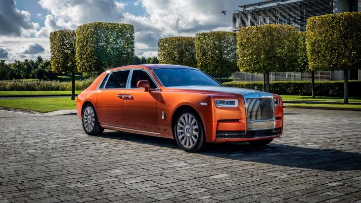 Седан Rolls-Royce Phantom EWB «Star of India»