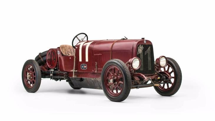 Автомобиль Alfa Romeo G1 1921 года