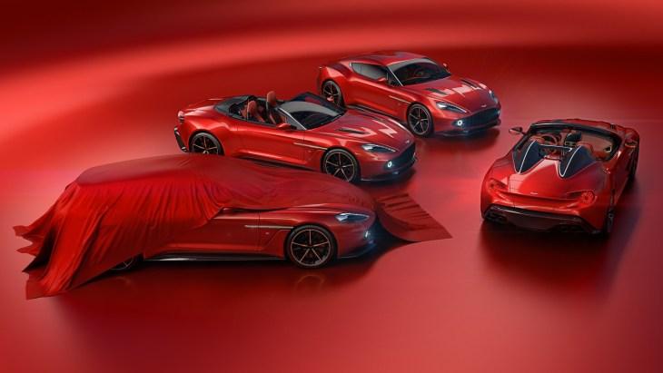 Автомобили Aston Martin Vanquish Zagato